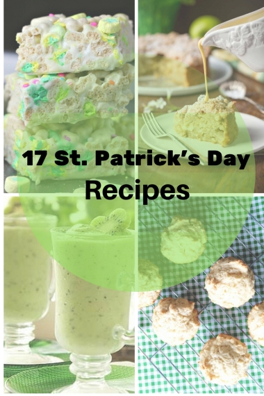 17 St. Patrick's Day Recipes!