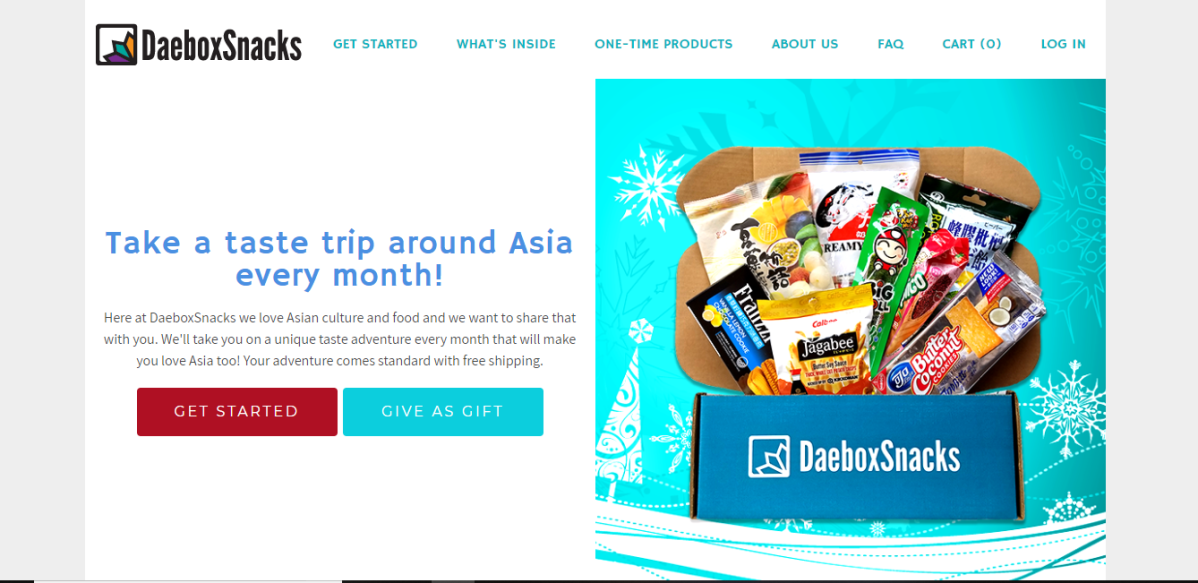 Snack Around Asia With DaeBox Snacks! {+giveaway}