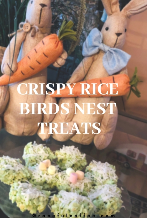 Crispy Rice Birds Nest TREATS
