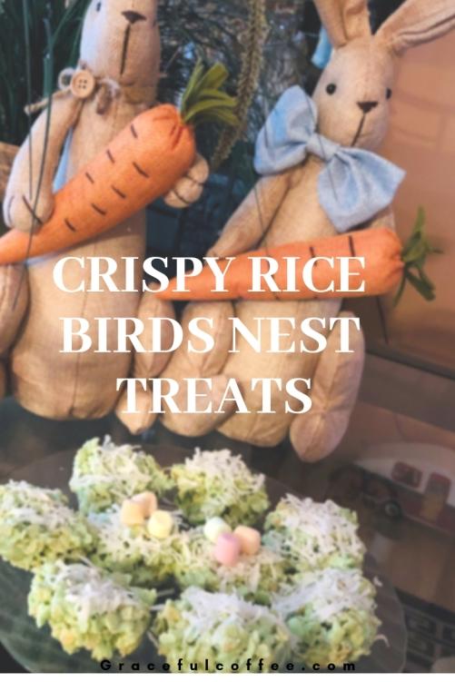 Crispy Rice Birds Nest TREATS